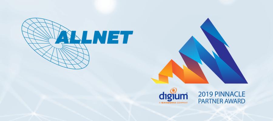 ALLNET GmbH, 2019 International Pinnacle Partner Award winner in the DACH region