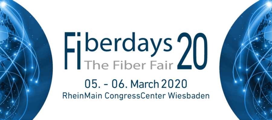 Fiberdays 20 Fiber Fair March 5-6 2020 RheinMain CongressCenter Wiesbaden