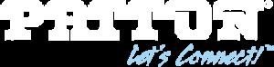 Patton Logo White
