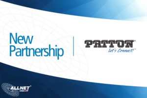 Patton ALLNET USA New Partnership Banner