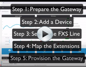 VIDEO TUTORIAL: Patton FXS Gateways and 3CX