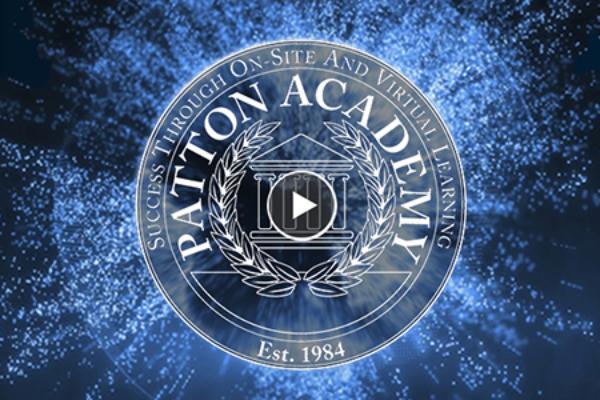 Patton Academy Logo Banner