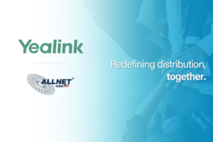 Yealink and ALLNET Partner Distribution Banner