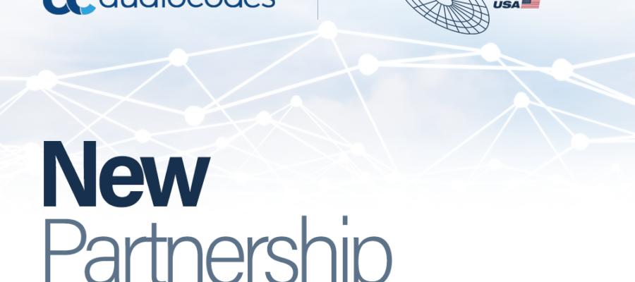 audiocodes and ALLNET USA New Partnership Banner