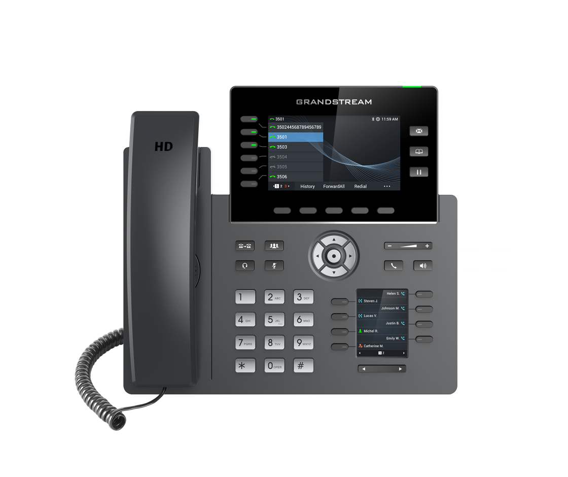 Grandstream HD Hosted VoIP Phone GRP2616